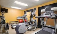 Workout room at Homewood Suites