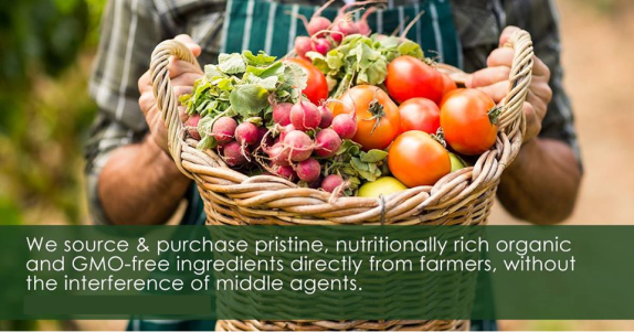 We source & purchase prime ingredients 2